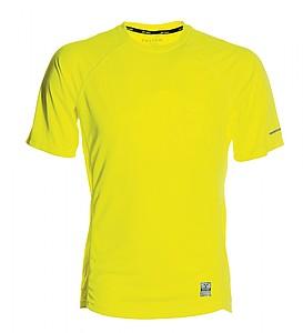 Funkční tričko PAYPER RUNNING fluorescenční žlutá XXXL