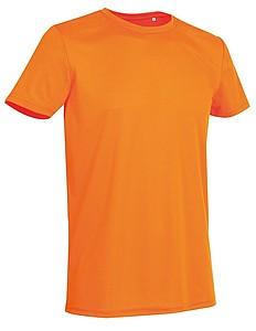 Tričko STEDMAN ACTIVE SPORTS-T MEN reflexní oranžová S