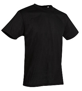 Tričko STEDMAN ACTIVE COTTON TOUCH MEN černá M - reklamní trička