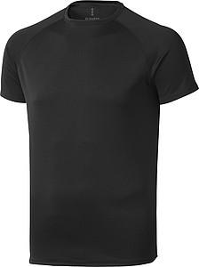 Tričko ELEVATE NIAGARA COOL FIT T-SHIRT černá XL