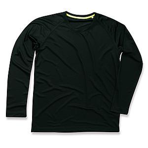 Funkční tričko STEDMAN ACTIVE 140 LONG SLEEVE MEN černá L