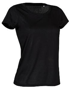 Tričko STEDMAN ACTIVE COTTON TOUCH WOMEN černá XL - reklamní vesty