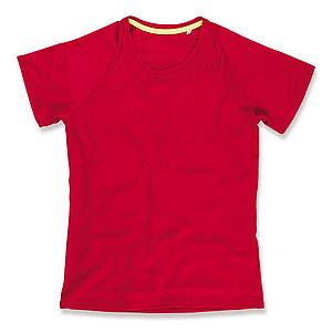 Funkční tričko STEDMAN ACTIVE 140 RAGLAN WOMEN červená S