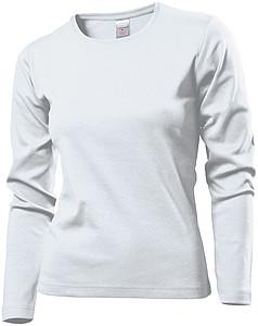 Tričko STEDMAN COMFORT LONG SLEEVE WOMEN bílá XL
