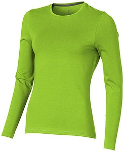 Tričko ELEVATE PONOKA LADIES LONG SLEEVE zelená L