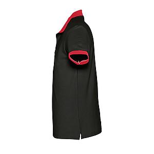 Polokošile SOL´S PRINCE,černá/červená, XL