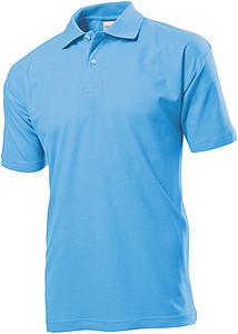 Polokošile STEDMAN POLO MEN světle modrá XXXL - reklamní trička