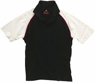 Polokošile SLAZENGER RAGLAN POLO černá, červená, bílá XXL