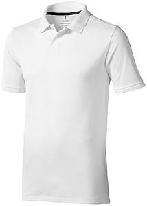 Polokošile ELEVATE CALGARY POLO bílá S - reklamní čepice