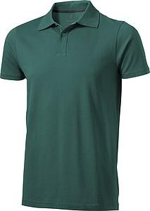 Polokošile ELEVATE SELLER POLO tmavě zelená S - reklamní čepice