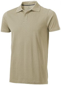 Polokošile ELEVATE SELLER POLO khaki XXL - reklamní trička