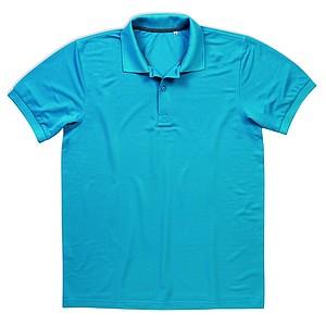 Polokošile STEDMAN ACTIVE PIQUÉ POLO tyrkysově modrá XL