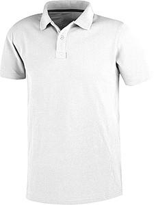 Polokošile ELEVATE PRIMUS, krátký rukáv, bílá XL