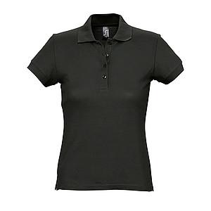 Polokošile SOL´S PASSION, černá, XL - reklamní bundy