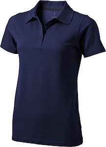 Polokošile ELEVATE SELLER LADIES POLO námořní modrá XL - reklamní trička