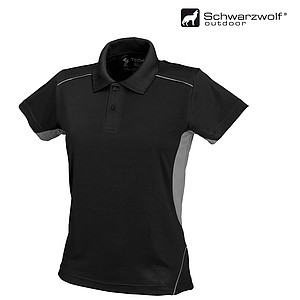 SCHWARZWOLF PALISADE funkční polokošile pánská, černá/šedá XL - reklamní čepice