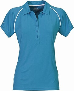 Polokošile SLAZENGER LADIES PIPING COOL FIT POLO aqua S