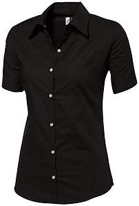 Košile US ASPEN LADIES BLOUSE SHORT SLEEVE černá M