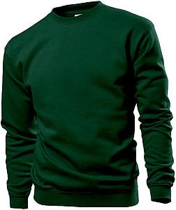 Mikina STEDMAN SWEATSHIRT tmavě zelená M