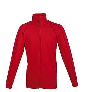 SCHWARZWOLF PANUCO Pánská mikina červená, XL - reklamní trička