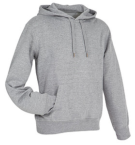 Mikina STEDMAN ACTIVE SWEAT HOODY MEN tmavě šedý melír M - reklamní vesty