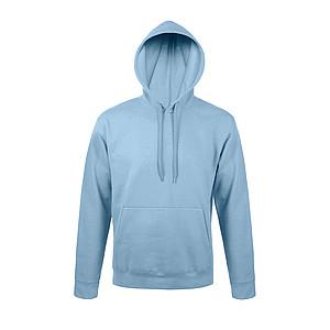 Mikina s kapucí SOL´S SNAKE, světle modrá, 3XL