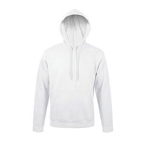 Mikina s kapucí SOL´S SNAKE, bílá, XL - reklamní bundy