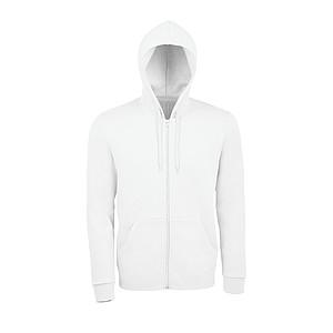 Lehká mikina SOL´S STONE, bílá, 3XL - reklamní bundy
