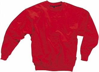 Mikina SLAZENGER COLLEGE SWEATER červená XL - reklamní bundy