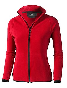 ELEVATE BROSSARD MICROFLEECE LADIES JACKET červená S