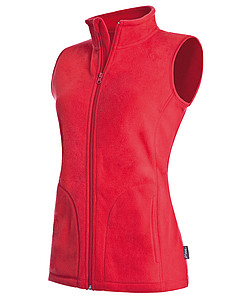 Vesta STEDMAN ACTIVE FLEECE VEST WOMEN červená L