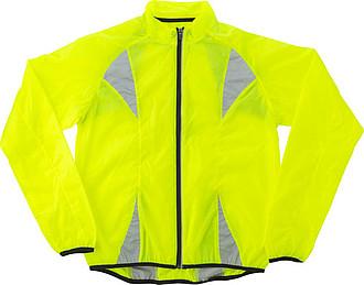 Nylonová fluorescenční běžecká bunda, XL vel.