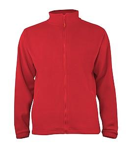 Pánská fleecová mikina SPORTINO, světle červená XXXL - reklamní bundy
