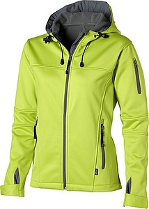 Bunda SLAZENGER LADIES MATCH SOFTSHELL JACKET zelená XXL