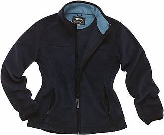 Bunda SLAZENGER LADIES FLEECE JACKET námořní modrá L