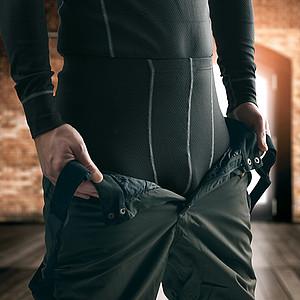 SCHWARZWOLF EVEREST Pánské termo kalhoty, XL
