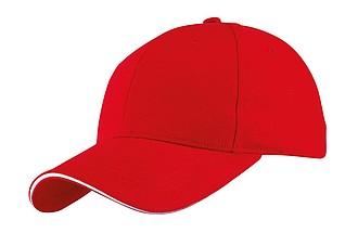 GILES kšiltovka červená - reklamní čepice