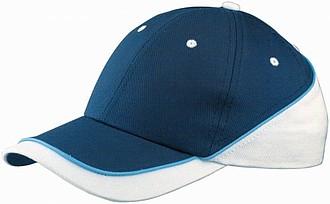 SPACE bavlněná čepice Slazenger, námořní modrá, bílá