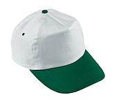 čepice bílo zelená
