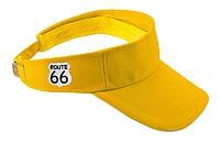 Bavlněný kšilt značky Route 66, žlutý