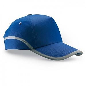 ENZO Bavlněná baseballová čepice, královská modrá