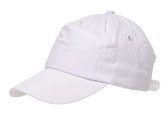 kšiltovka bílá