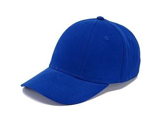 CHRIS Čepice s kšiltem, královská modrá - reklamní čepice
