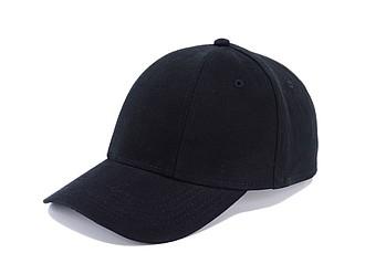 CHRIS Čepice s kšiltem, černá - reklamní čepice