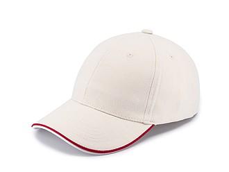 STAN Čepice s kšiltem, béžová - reklamní čepice