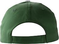 PROGRESA Pětipanelová bavlněná čepice, zelená - reklamní čepice