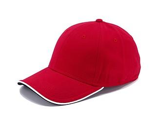 STAN Čepice s kšiltem, červená