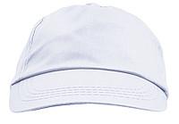 ŽOKEJ Pětipanelová bavlněná čepice, bílá - reklamní čepice