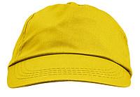 ŽOKEJ Pětipanelová bavlněná čepice, žlutá - reklamní čepice
