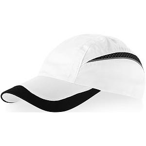 EDGE Kšiltovka Slazenger se síťovaným kšiltem, bílá černá